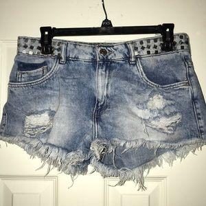 Women's Jean shorts Zara